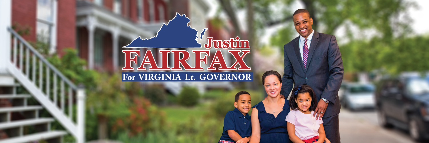 Justin Fairfax for Lt. Governor
